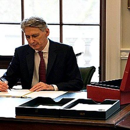 Philip hammond budget london